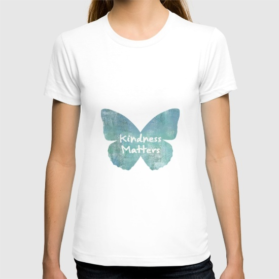 kindness-matters-butterfly-expressions-tshirts