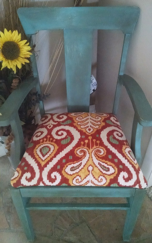 Making something new again - renewed chair